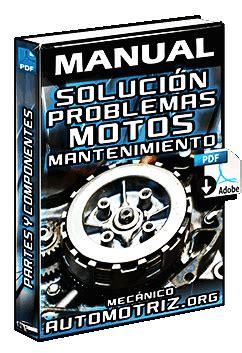 manual soluci 243 n de problemas en motos motor v 225 lvulas buj 237 as y mantenimiento mec 225 nica
