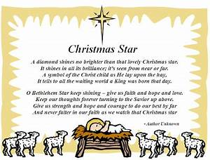 christmas poems about stars Christmas Star