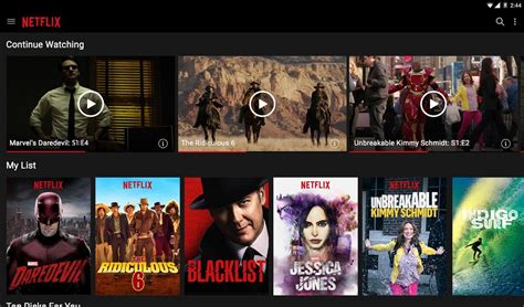 netflix mobile netflix mobile app for android iphone
