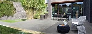 decoration jardin exterieur zen exemples d39amenagements With amenagement de terrasse exterieur 8 deco salle de bain douche