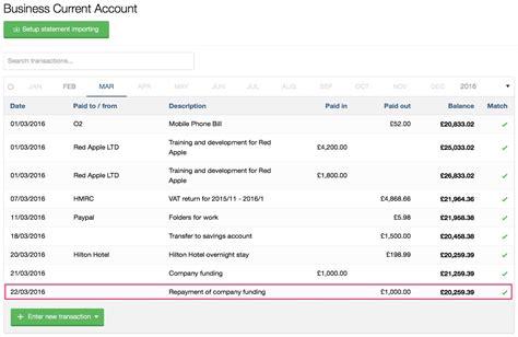Directors Loan Account Lending Your Company Money