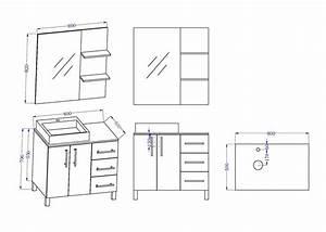 Plan De Meuble : meuble de salle de bain laqu noir 1 vasque meuble de salle de bain laqu noir ref florence n ~ Melissatoandfro.com Idées de Décoration