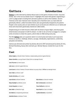 Gattaca Film Teacher Text Guide And Worksheets Tpt