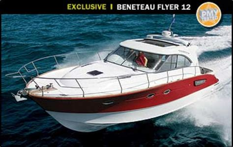 beneteau flyer  power motoryacht