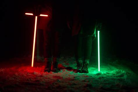 The Force Awakens + Light Saber Battle in the Snow VLOG ...