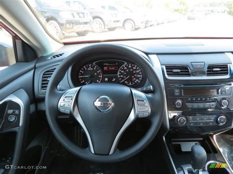 nissan altima   charcoal dashboard photo