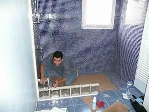 cuisine salle de bain douche italienne carreau de verre With douche italienne carreau de verre
