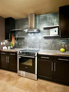kitchen backslash ideas metalic kitchen backsplash design ideas decoist