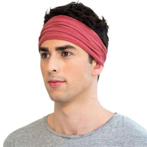 bandana headband  men images  pinterest