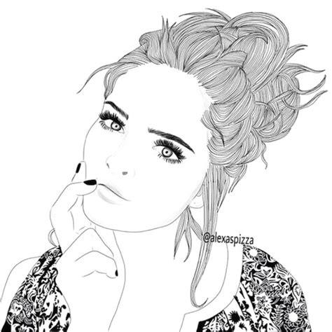 ragazze disegni immagini tecnogers  disegni tumblr