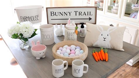 Homegoods Decor: Spring Decor + Easter Decor Haul & Decorating Ideas