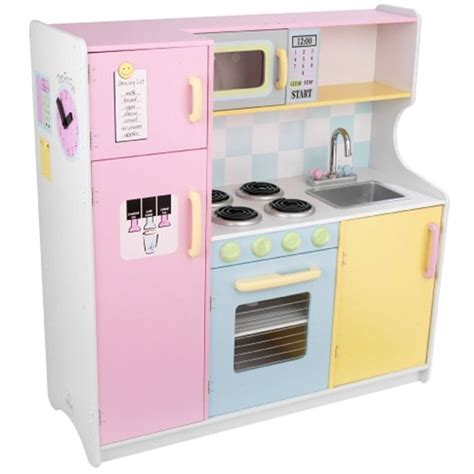 cuisine en bois jouet kidkraft grande cuisine enfant kidkraft en bois achat vente