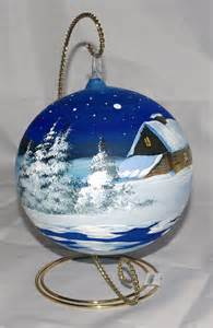 painted ornament painted ornaments painted glass