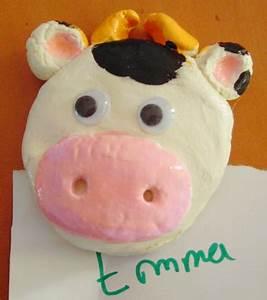 Temps Cuisson Pate A Sel : aimant vache t te modeler ~ Voncanada.com Idées de Décoration