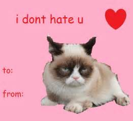 grumpy cat valentines 17 best images about valentines on