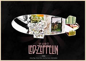 Led Zeppelin hard rock classic groups bands jimmy page ...