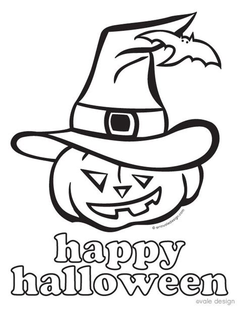 printable halloween coloring pages  kids home