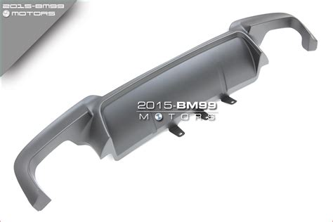 Pp Rear Diffuser Quad Exhaust For Bmw F10 F11 F18 5-series