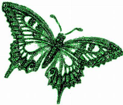 Glitter Graphics Butterfly Icons Butterflies Pink Gifs