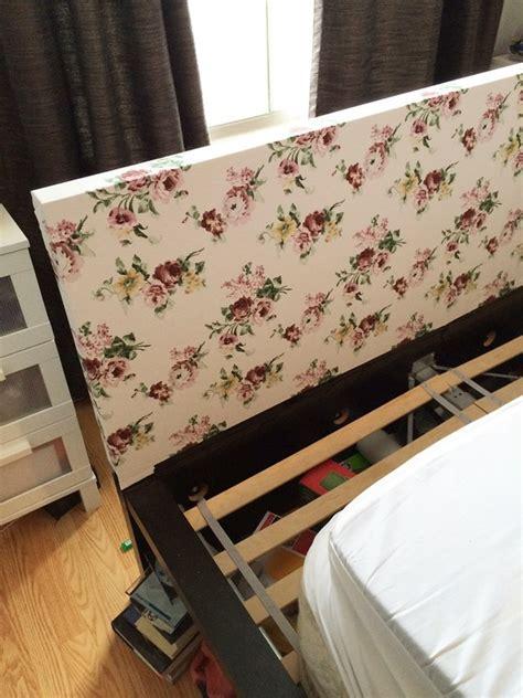 customizing ikeas malm headboard     bed