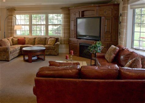 great room addition traditional family room