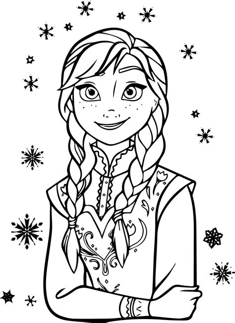 anna coloring pages  printable coloring pages