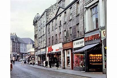 Inverclyde Greenock Street Hamilton Shopping 1968 Museum