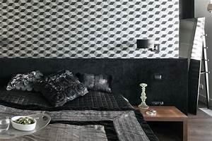 Tapeta w sypialni - modny dodatek z charakterem