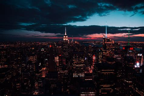 ltsesthetics cityscape wallpaper new york