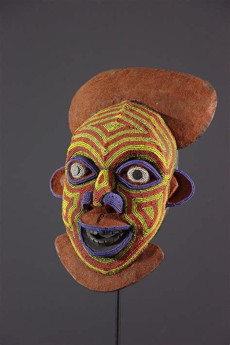 Masque Bamileke - Art africain - Masque africain