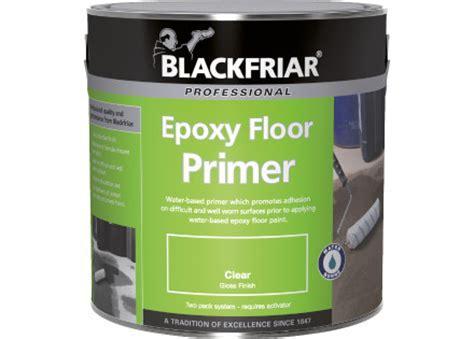 Epoxy Floor Primer   Blackfriar Paints