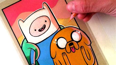 Drawing Adventure Time - Finn and Jake - FAN ART FRIDAY ...