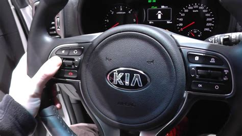 kia sportage mk dash warning lights interior