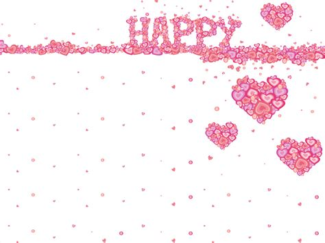 Free Happy Birthday Ornament Backgrounds For Powerpoint