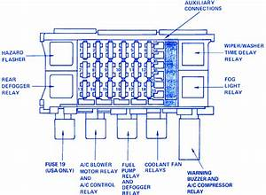 Pontiac Lemans 1997 Under The Dash Fuse Box  Block Circuit Breaker Diagram  U00bb Carfusebox