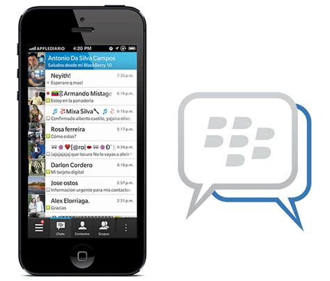 messenger for iphone blackberry messenger for iphone submitted to app two