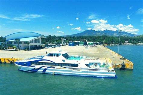 Ferry Boat Bataan To Manila by Look Ferry From Bataan To Moa In 50 Minutes The