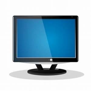 Flache LCD-Fernseher cliparts, clipart - ClipartLogo com