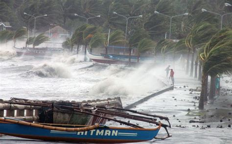 typhoon haiyans deadly surge noted  warsaw talks climate central