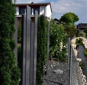 metall im garten pavillon gartenbecken wasserbecken With französischer balkon mit rost für den garten