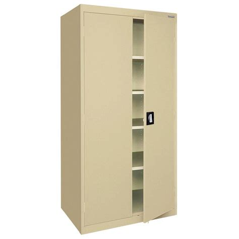 home depot white storage cabinets closetmaid 36 in laminated 2 door raised panel storage