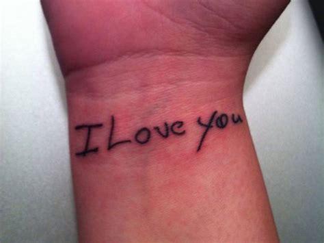 classy  love  wrist tattoos