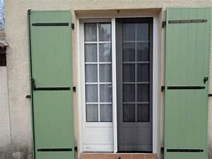 moustiquaires pour portes fenetres obasinccom With porte de garage enroulable et porte vitrée salon