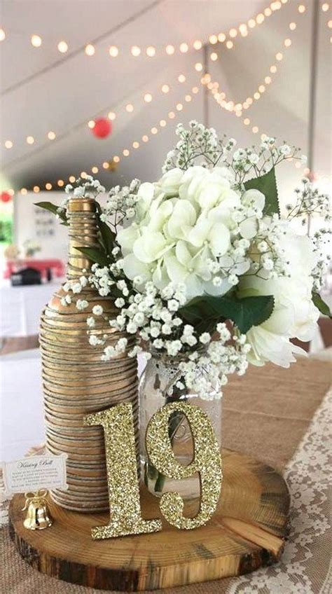 ways  display  wedding table numbers   puff