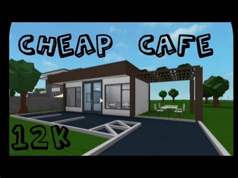 Select from a wide range of models, decals, meshes, plugins, or audio that help bring your. Roblox Bloxburg - Cheap Cafe - Speed Build - YouTube