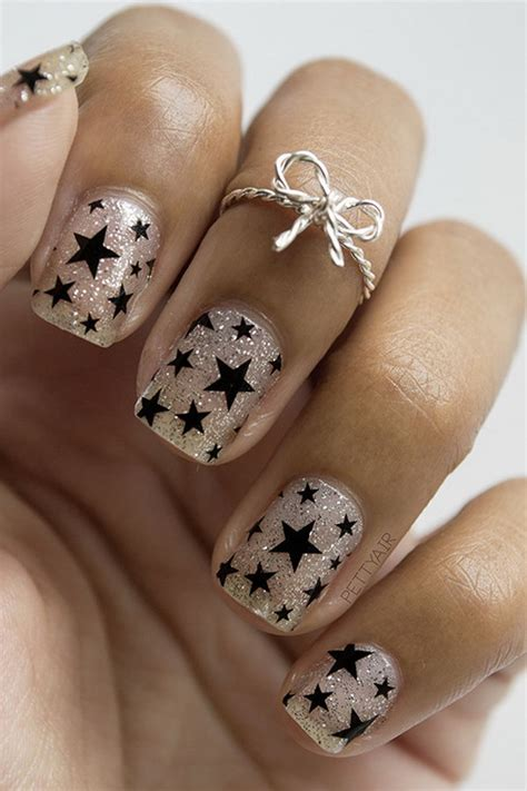 60 Glitter Nail Art Designs Art And Design 50 Cool Star Nail Art Designs With Lots Of Tutorials And Ideas Hative