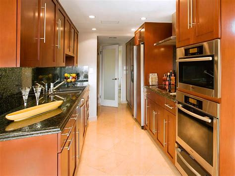 how to remodel a galley kitchen galley kitchen designs hgtv 8863