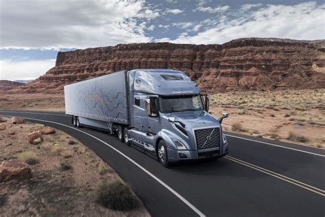 volvo big truck volvo s new semi trucks now have more autonomous features