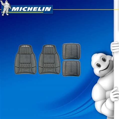 Michelin Floor Manual by 4 Pce Genuine Michelin Universal All Weather Black Rubber