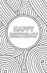 Birthday Printable Cards Card Coloring Happy Paper Template Trail Pages Greeting Templates Dad Papertraildesign Boys Printables Printing Folding Own Following sketch template